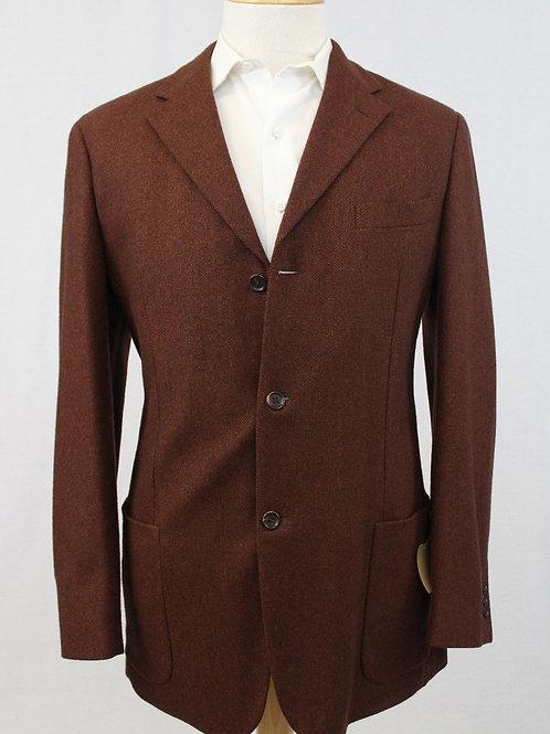 Ermenegildo Zegna Brick Wool/Cashmere 44 Regular