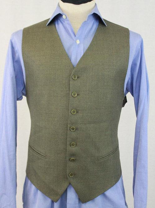 Pal Zileri Wool Sage Vest 40 Regular