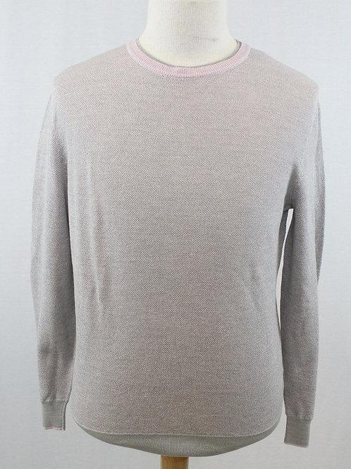 Ermenegildo Zegna Long Sleeve Silk/Cotton/Linen Sweater XXL