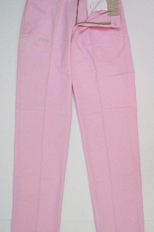 Bill's Khakis Pink Chino Flat Front 34 x 34