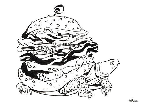 Burger Turtle