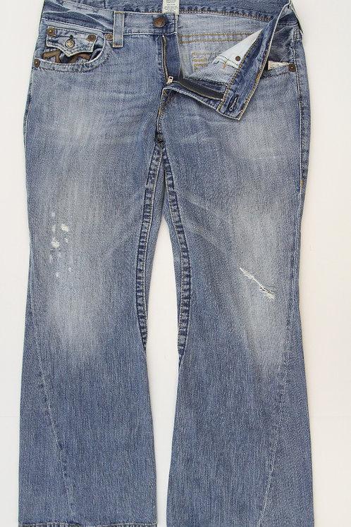 True Religion Denim Short Rise Boot Cut 38 x 32