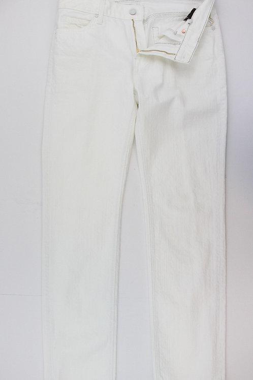 7 for all Mankind White Denim, Slimmy 31 x 34