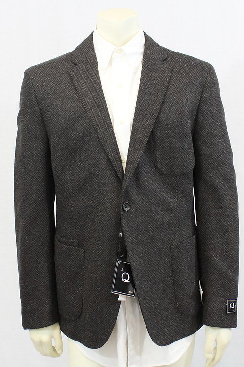 Flynt Herringbone Sport Coat 44 Regular