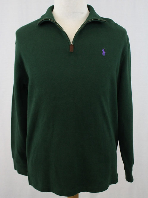 Ralph Lauren Long Sleeve 1/4 Zip Pullover Large