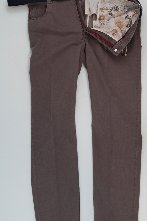 Meyer Mauve Chino Flat Front Diego 38 x 34