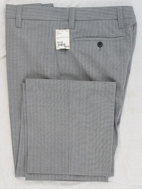 Hugo Boss Grey Flat Front 40 x 32