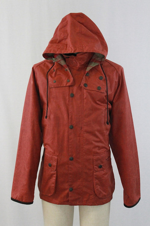 John Partidge Burnt Orange Waxed Cotton X-Large