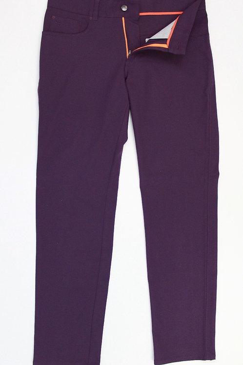Peter Millar, Purple, Cotton Stretch Chino 34 x 32