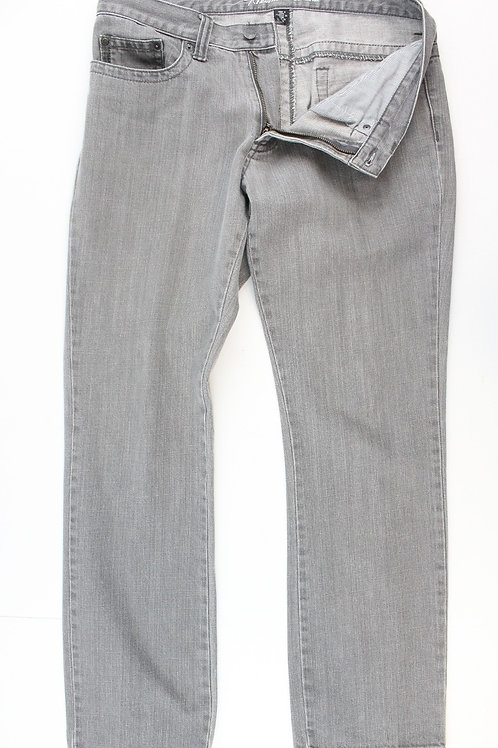 Kenneth Cole Grey Jeans Front Zip 32 x 30