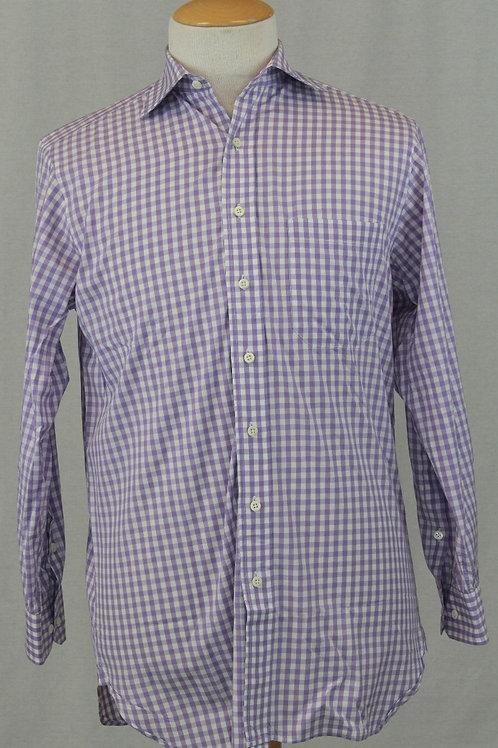 Paul Stuart Lavender w/Check Weave 15.5 x 35