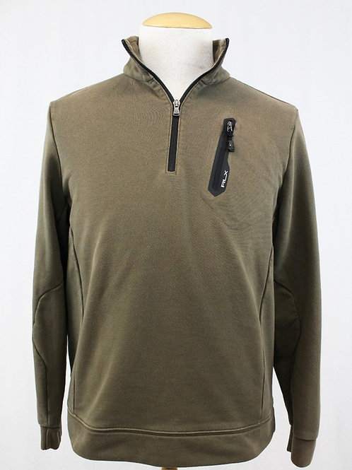 Ralph Lauren Olive 1/4 Zip XL