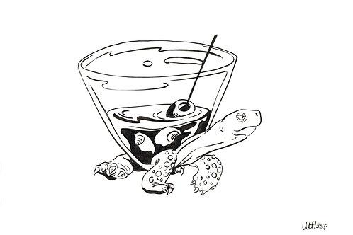 Turtle Martini
