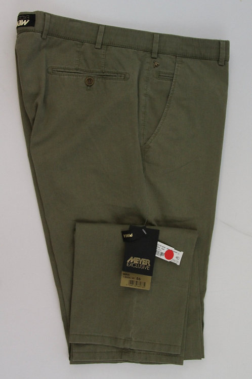 Meyer Army Green Chino Flat Front Bonn 40 x 34