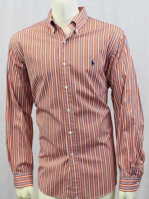 Ralph Lauren Orange w/Blue Stripes 17 34/35