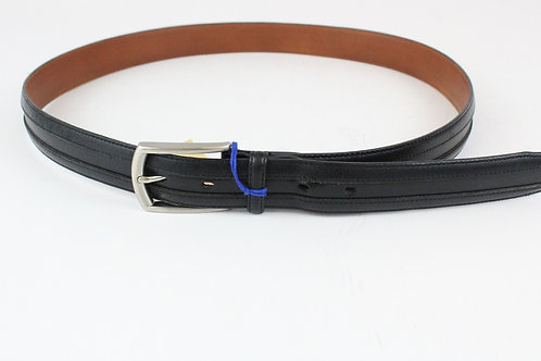 Johnston & Murphy Black Lether Belt 38