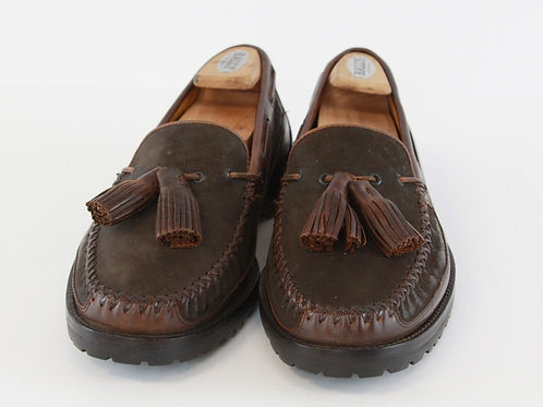 Cole Haan Brown Tassel Loafer 10