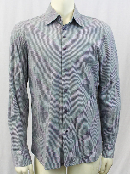 Armani Exchange w/Muted Purple & Green Stripes Medium