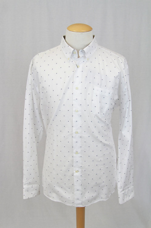 Barbour White w/Small Dots XXL