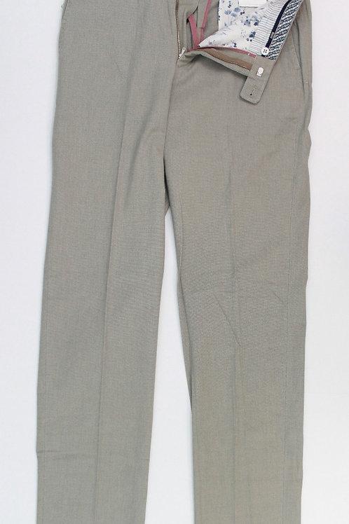 Hiltl, Grey, Flat Front, Cotton Chino 33 x 38