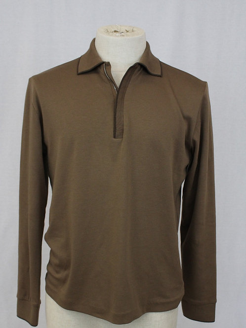 Hugo Boss Bark Long Sleeve 1/4 Zip Pullover Small