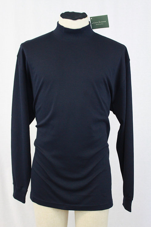 Fairway & Greene Navy Mock Turtleneck Large