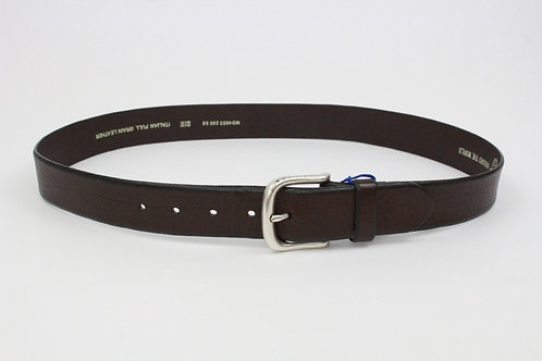Fossil Brown Leather Belt 36