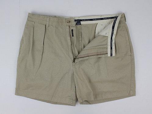 Ralph Lauren Tan Chino Shorts w/Pleated Front 40