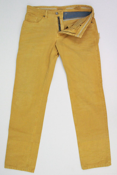 Marc Jeans Yellow Jeans w/White Stitching 33 x 34
