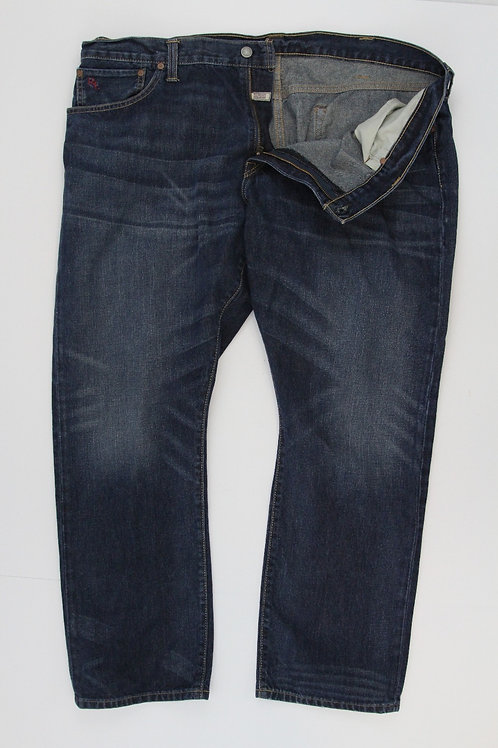 Ralph Lauren Denim Dark Finish Hampton Straight 42 x 30
