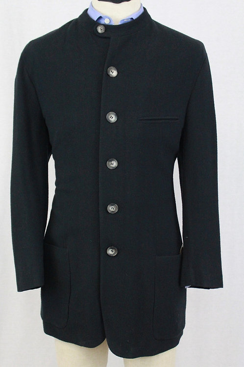 Giorgio Armani Midnight Blue Wool w/Nahru Collar Pants: 33x31