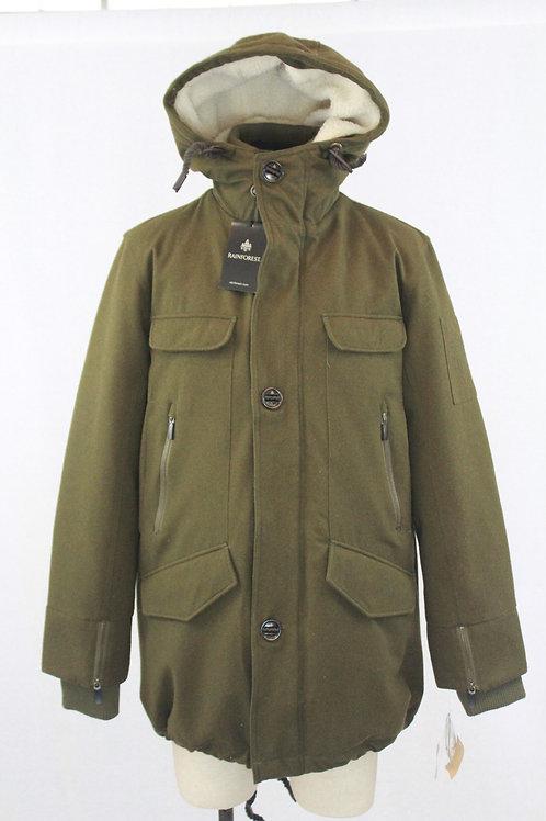 Rainforest Green Thermoluxe Wool w/Hood Medium
