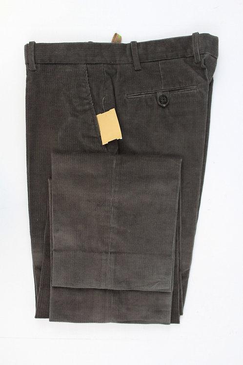 Etro Grey Narrow Corduroy Size 34 x 32