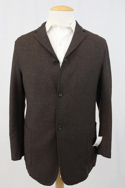 Jil Sander Brown Wool/Mohair, Natural Drape 40 Regular