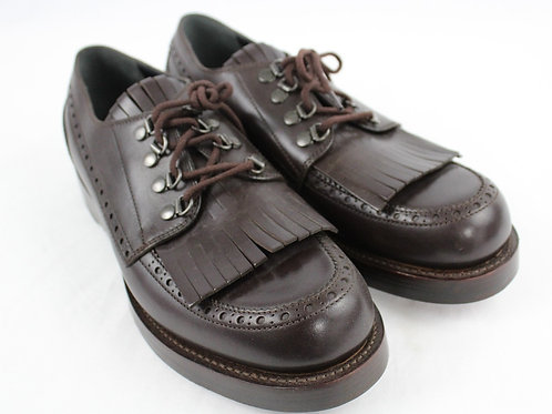 Gucci Brown Oxford w/Kiltie & Apron Toe 9.5