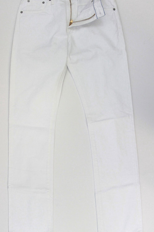 Citizen of Humanity White Denim Jeans Flat Front 30 x 32