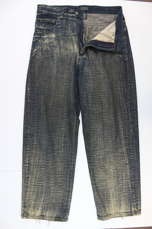 Leeman Denim Intentionally Distressed 34 x 32