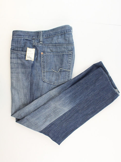 7 For All Mankind Denim Boot Cut Zip Fly 32 x 30