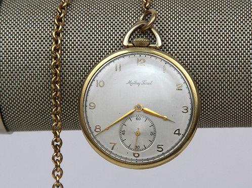 Mathey Tissot Gold Vintage 14K Gold Filled, 17 Jewel