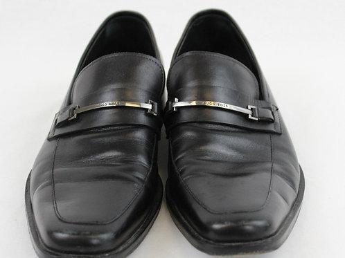 Hugo Boss Black Loafer w/Horsebit Bar 12