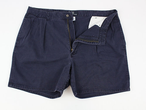 Ralph Lauren Navy Chino Shorts w/Pleated Front 40