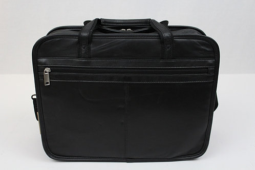 No Brand Carry On Nylon w/Zippered Compartments