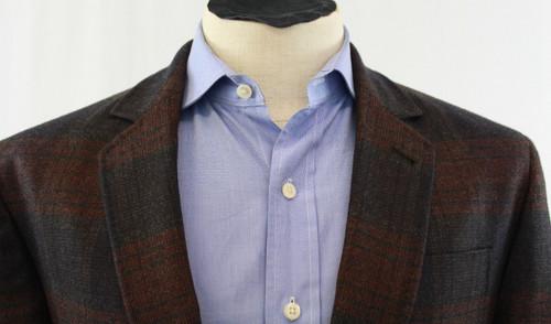 Paul Fredrick Green Silk Tie