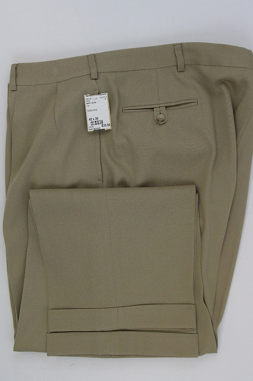 Ralph Lauren Tan Wool Slacks 42 x 30