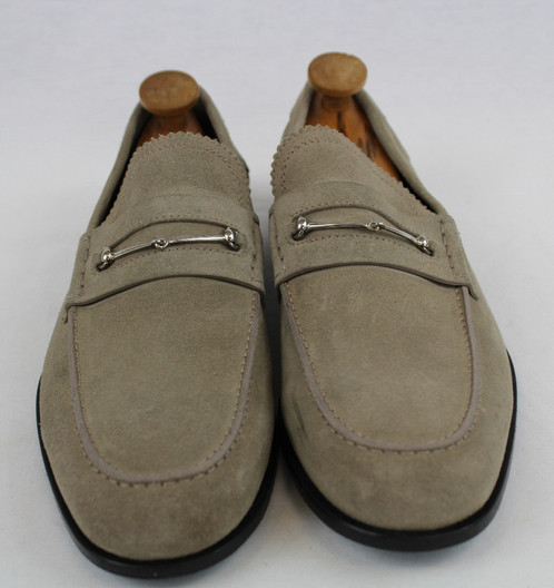 535cc73ed21 Gucci Suede Loafer w Horsebit Buckle 9