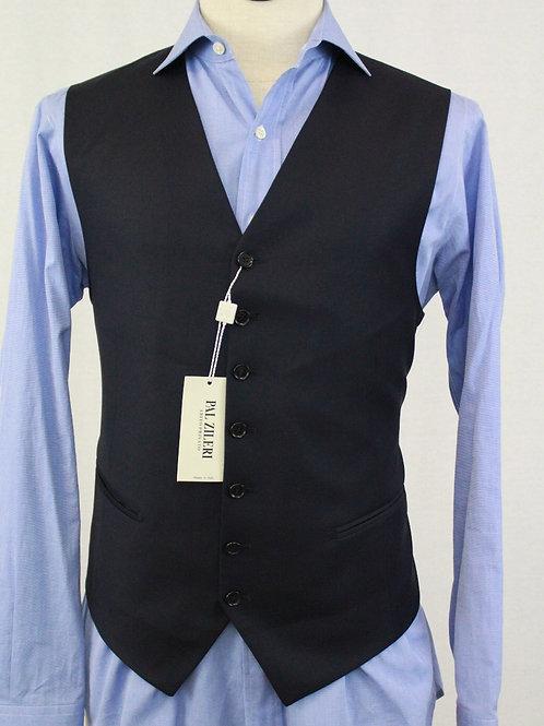 Pal Zileri Navy Wool Vest 44 Regular