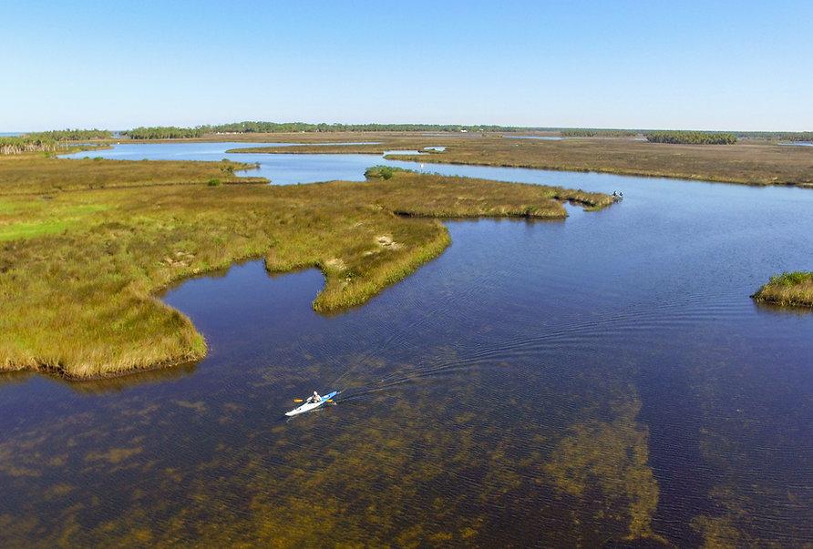 Aerial View of the Bayport - Linda Peder
