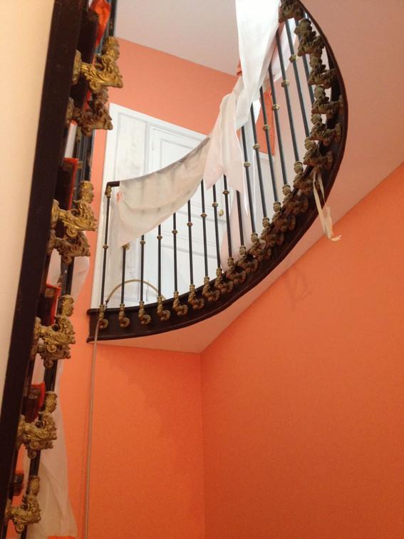 Rénovation d'une cage d'escalier - viallant-loge
