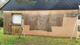 Démoussage façade - Viallant-Loge
