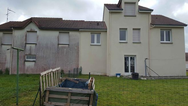 Nettoyage de façade - Viallant-Loge